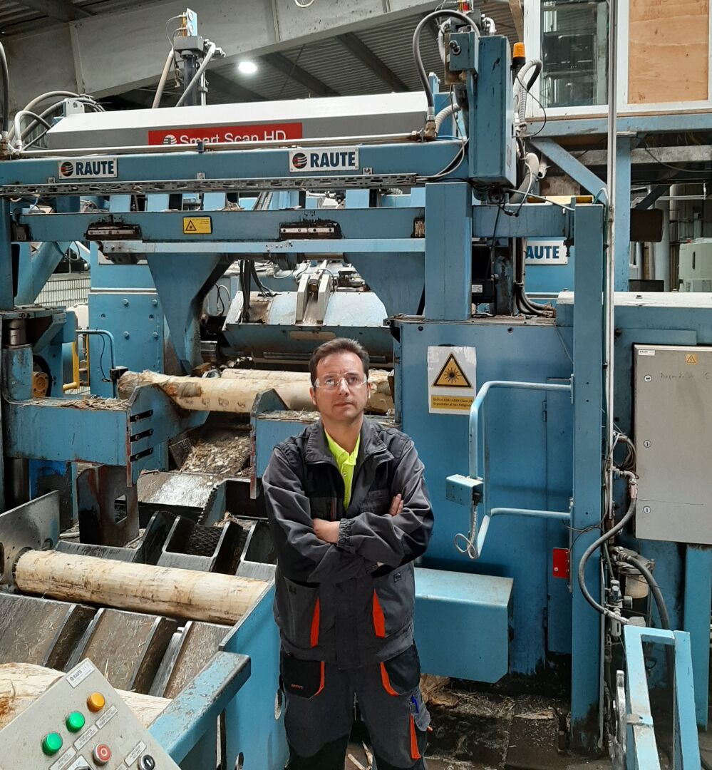 """""""Block Centering Analyzer R7 is adding value and profitability to the whole peeling line,"""" says José Augusto Huerga, Technical Director of Garnica's Valencia de Don Juan mill."""